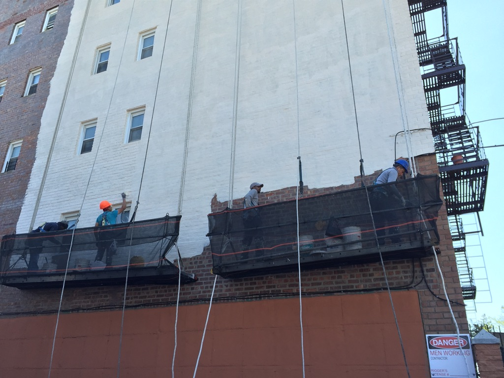 parapet wall construction