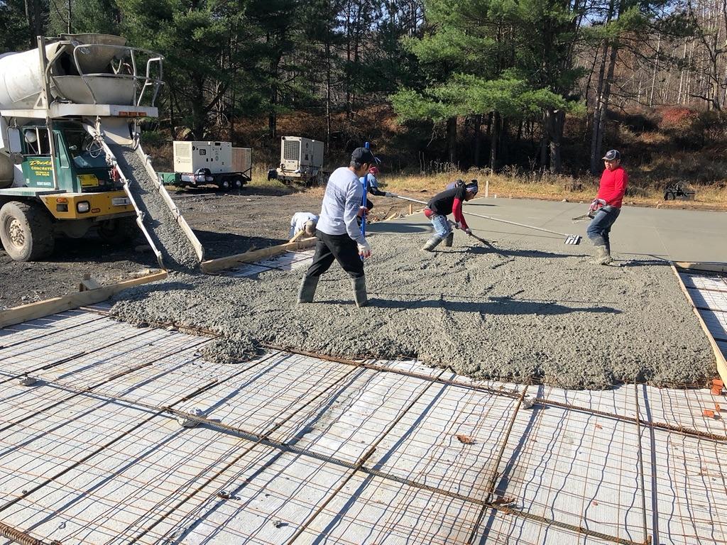 Concrete flatwork
